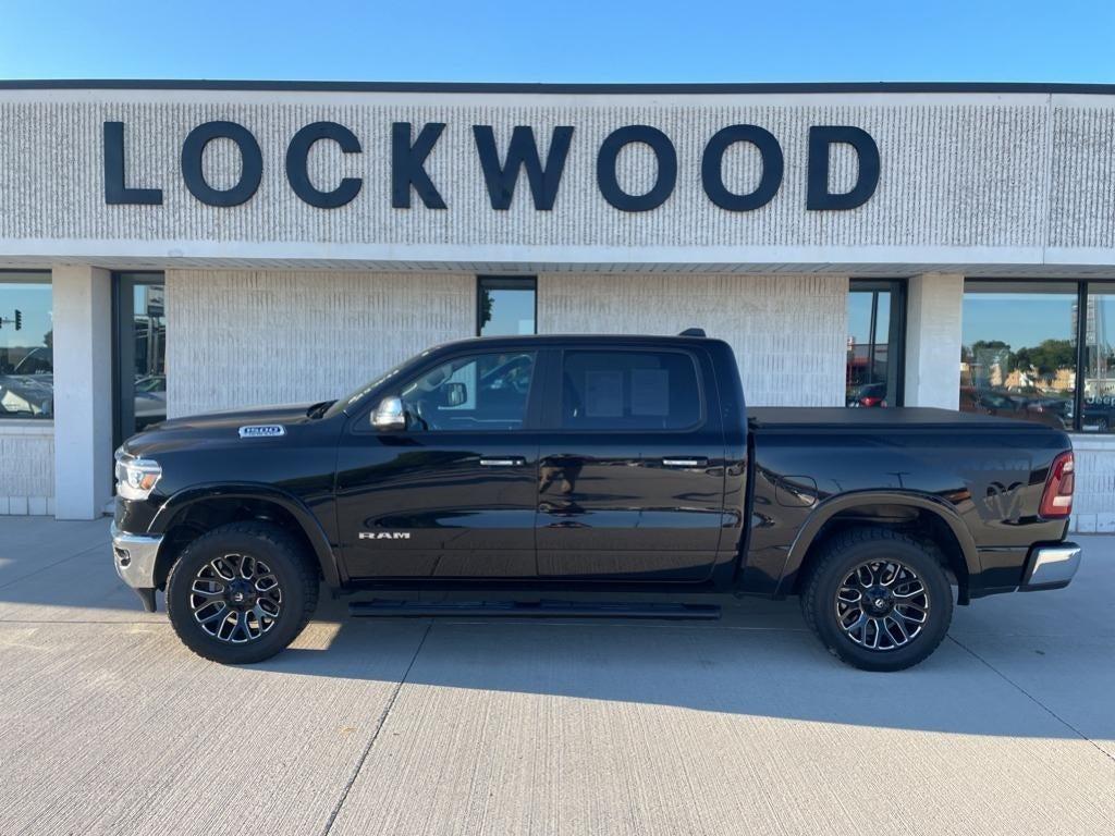 Used 2019 RAM Ram 1500 Pickup Laramie with VIN 1C6SRFJT6KN556305 for sale in Marshall, Minnesota