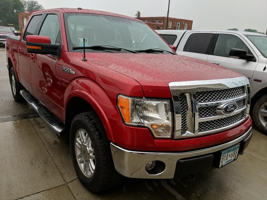 Used 2012 Ford F-150 Lariat with VIN 1FTFW1EF3CFA14083 for sale in Marshall, Minnesota